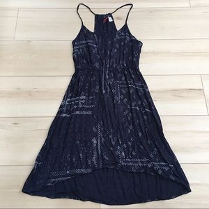 Blue bandana summer dress